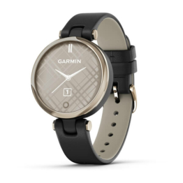 Garmin lily cream gold main