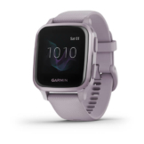 Garmin venu sq metallic orchid hero