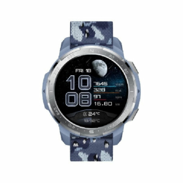 Honor watch gs pro camo blue front
