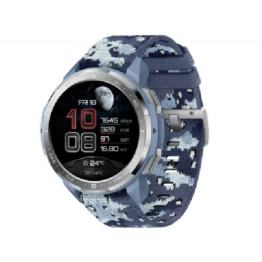 Honor watch gs pro camo blue side