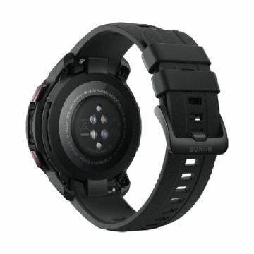 Honor watch gs pro charcoal black rear