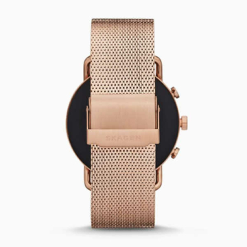 Skagen falster 3 rose tone back