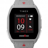 Timex ironman R300 gps silver tone front