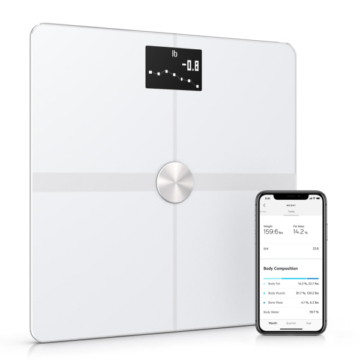 Withings scale body plus white with app