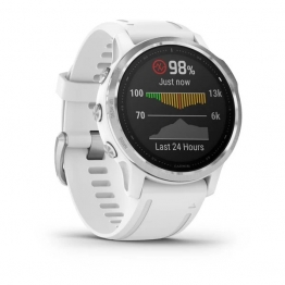 smartwatch garmin fenix6 s white sideview