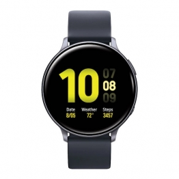samsung galaxy watch active2 aquablack front