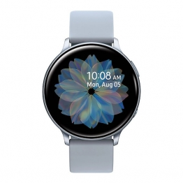 samsung galaxy watch active2 cloudsilver front