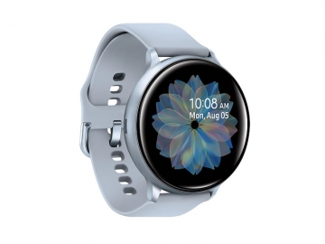 samsung galaxy watch active2 cloudsilver sideview