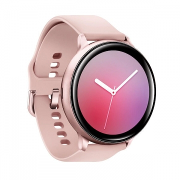 samsung galaxy watch active2 pink gold side